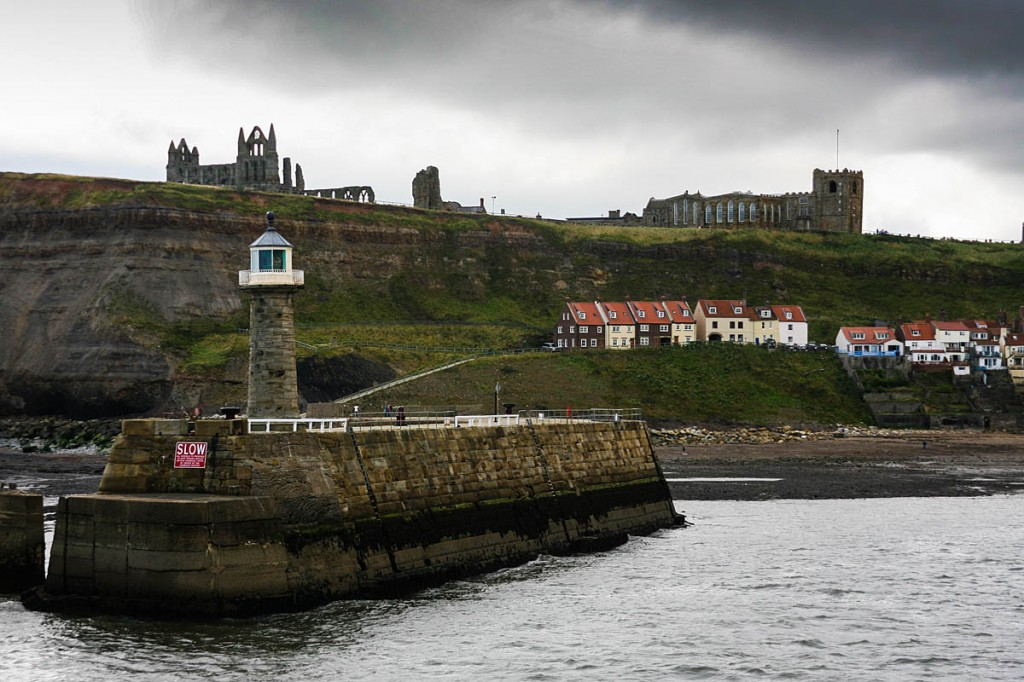 Whitby, setting for Dracula's arrival on Britain's shores