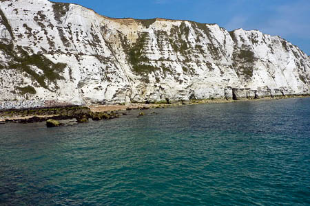 Planned sections of the coastal path include the White Cliffs of Dover. Photo: Pam Fray CC-BY-SA-2.0
