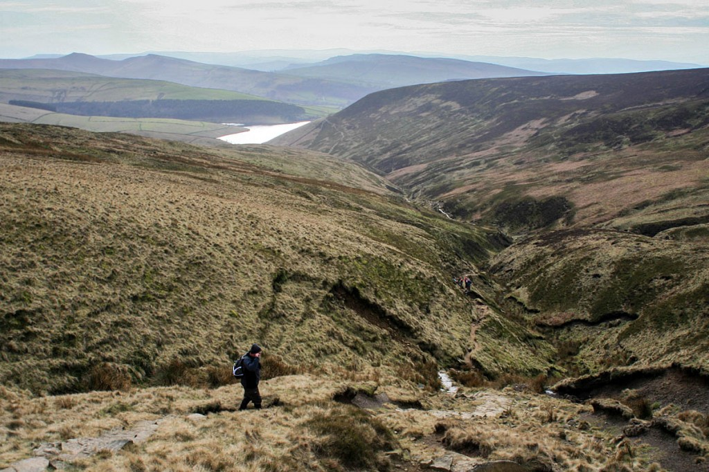The walker got lost after setting out from Kinder Reservoir
