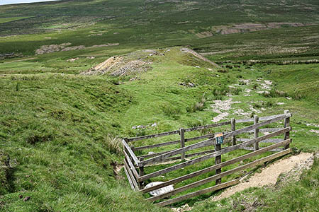 Windegg Mine on Booze Moor. Photo: Trevor Littlewood CC-BY-SA-2.0