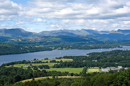 The man was swimming in Windermere. Photo: Abbasi 1111 CC-BY-3.0