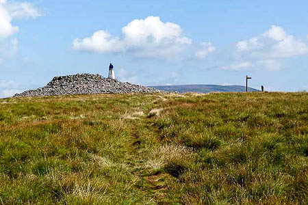 The longest walk takes in Windy Gyle in the Cheviots. Photo: Oliver Dixon CC-BY-SA-2.0