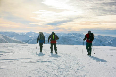 Winter mountaineers will benefit from safety advice after the seminar