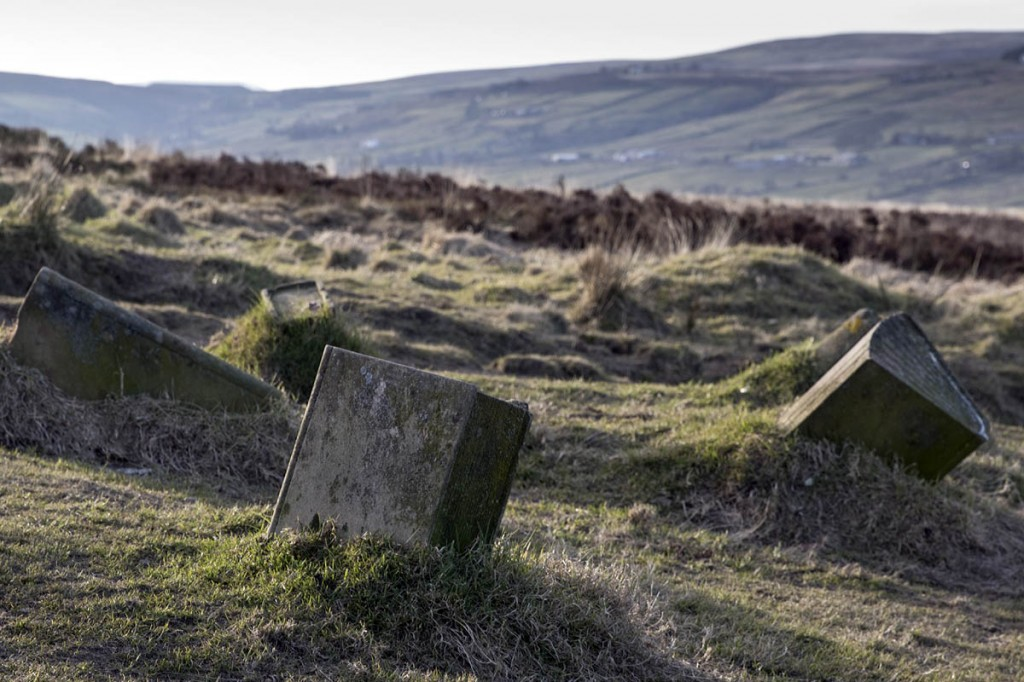 The stone books on Penistone Hill, Haworth