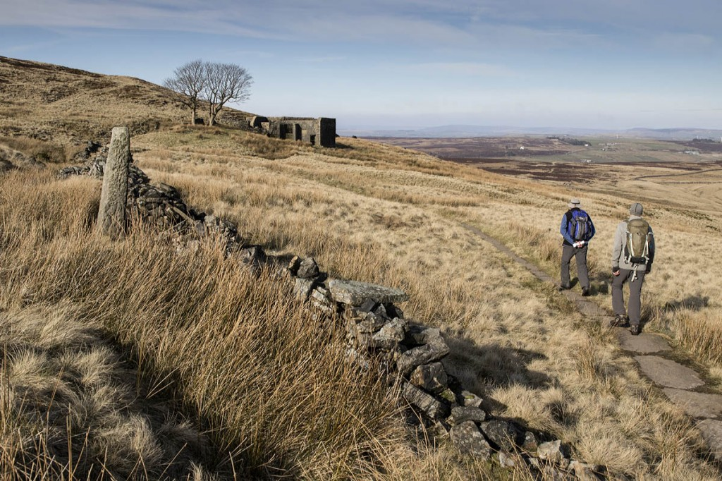 Top Withins lies on the Pennine Way, Britain's first national trail