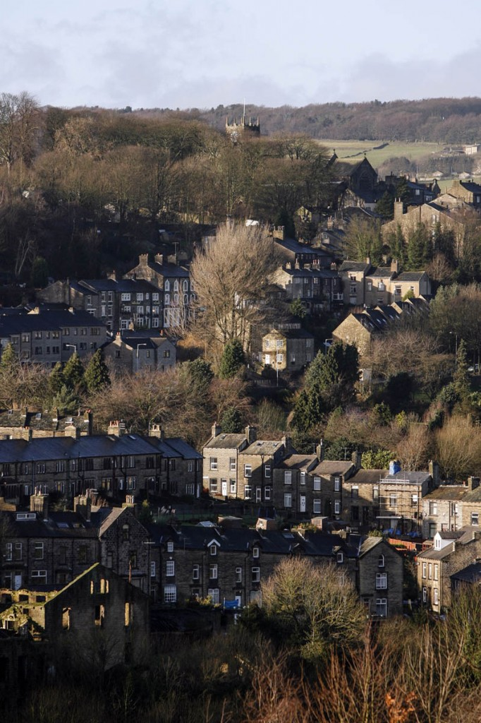 The village of Haworth is the starting point for the walk