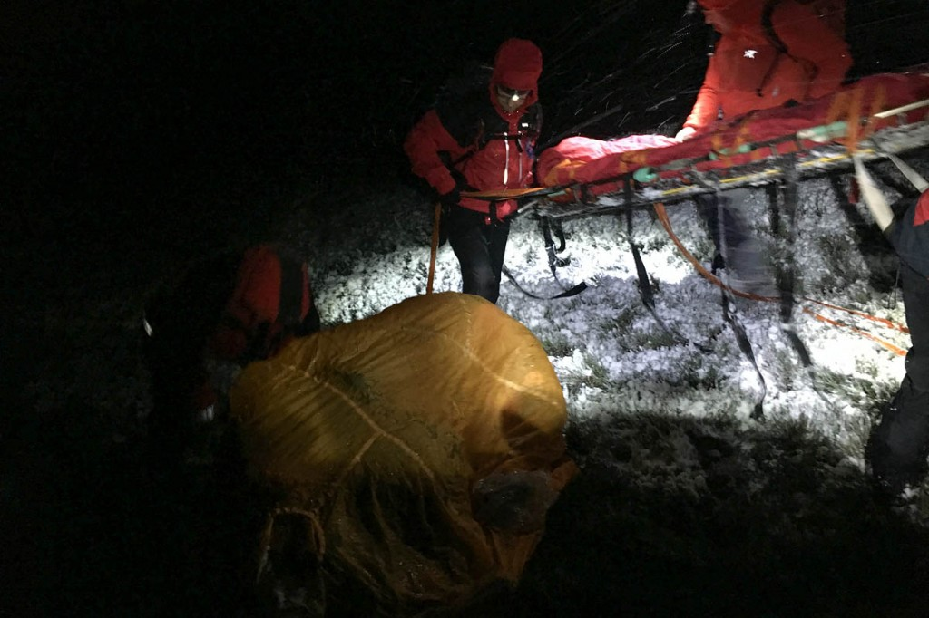The rescue was a 'life and death' situation. Photo: Woodhead MRT