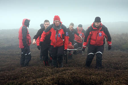 Mountain rescue team members need to be keen hillwalkers before they start training