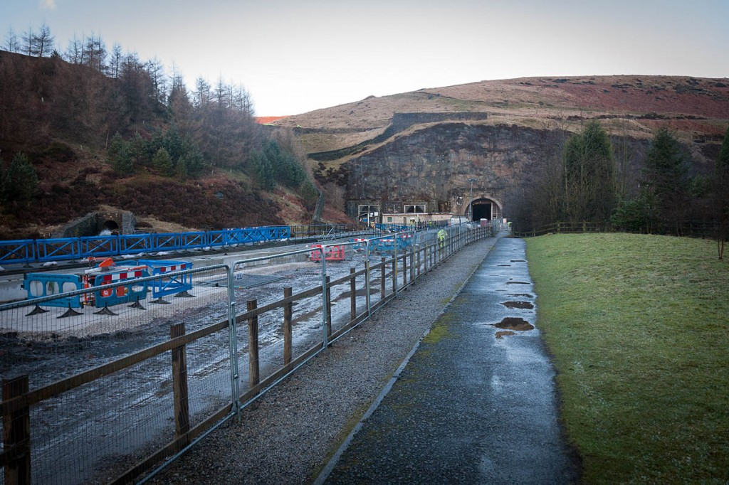 The man's body was found near Woodhead Tunnels. Photo: Bob Smith/grough