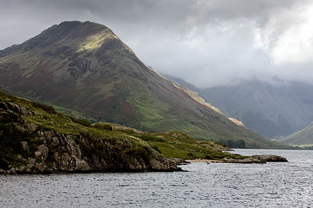 Yewbarrow, where the family of three got lost