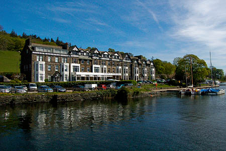 The YHA hostel at Ambleside, due for a refurbishment