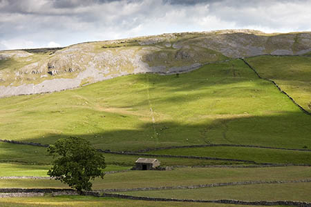 Many of the Dales' barns are in open countryside, the authority points out