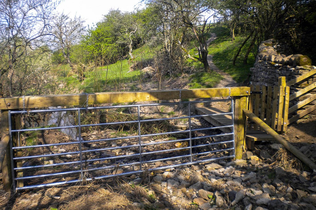 The footpath in Wensleydale has been repaired. Photo: YDNPA